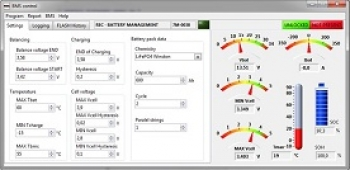 REC-BMS Control Software incl. RS-485 cable
