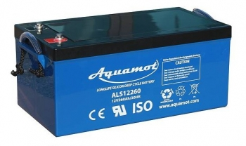 Aquamot - Antriebsbatterie, DC-Akku ALS12260 12V/260Ah AGM Deep Cycle Batterie