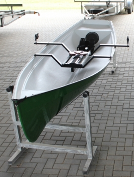 Yawl - Ruderboot for 1-3 Personen und 1-2 Ruderer, 35kg, drop in Rollsitz