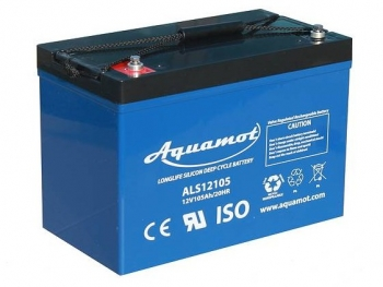 Aquamot - Antriebsbatterie, DC-Akku ALS12115 12V/115Ah AGM Deep Cycle Batterie