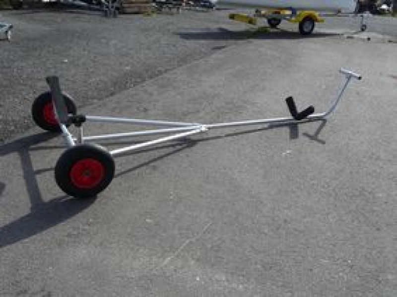 Virusboats - Club Trolley Handslipwagen fuer Sport-Ruderboote, Virus Yole Club / Class