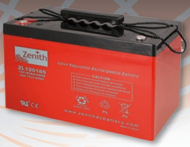 Zenith - Power battery, DC battery ZL12145 12V/145Ah AGM Deep Cycle Battery