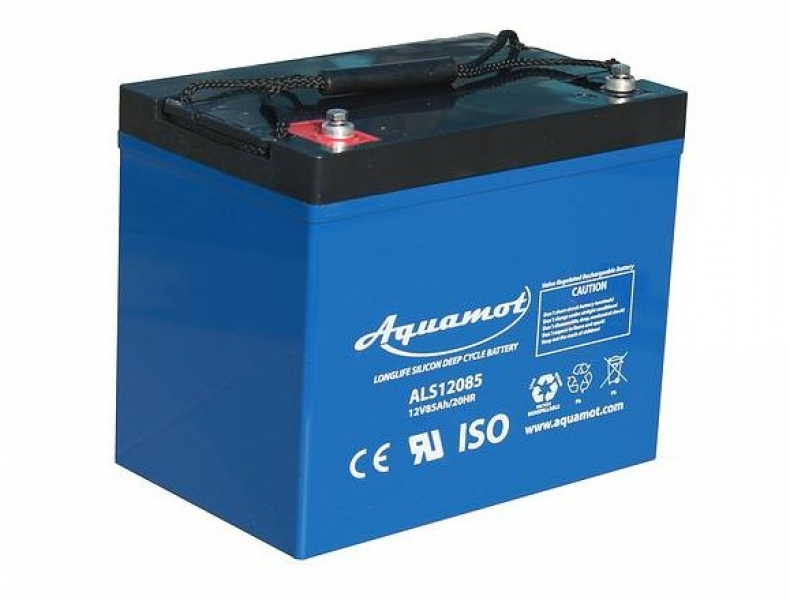 Aquamot - Antriebsbatterie, DC-Akku ALS12145 12V/145Ah AGM Deep Cycle Batterie